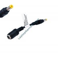 Кабел преходник от 7.5x0.7x5.0 към 4.8x1.7 Yellow tip for 65W adapters