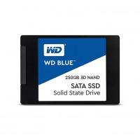 """Твърд диск WD Blue 3D NAND 250 GB 2.5"""" inch SATA III  SSD"""