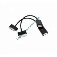 30 Pin USB A to A Host OTG Cable a Adapter for Samsung Galaxy