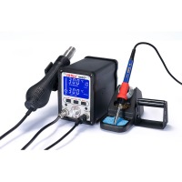 Станция Soldering station 2in1 LCD SMD rework station - YIHUA 995D+