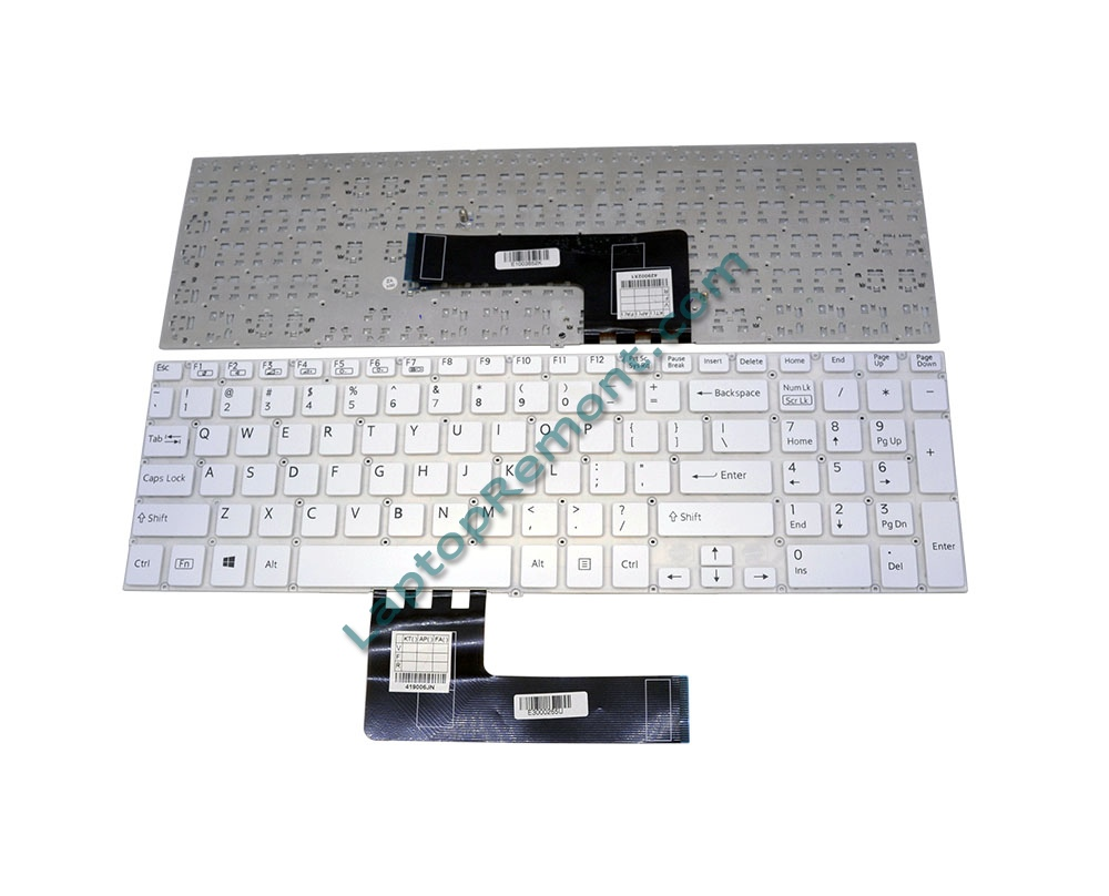 Клавиатура за SONY VAIO SVF15 WITHOUT FRAME WHITE US