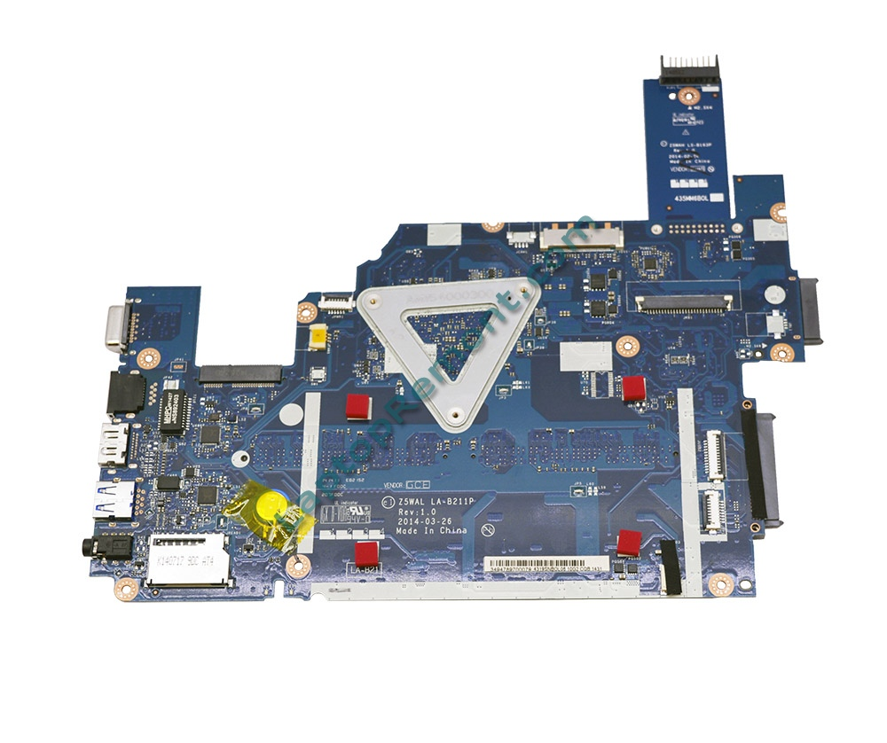 Motherboard ACER Aspire E5-511 Extensa 2509 EX2509 Z5WAL MB ASSY UMA N2830