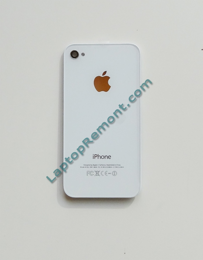 Apple iPhone 4 WHITE - Back Cover