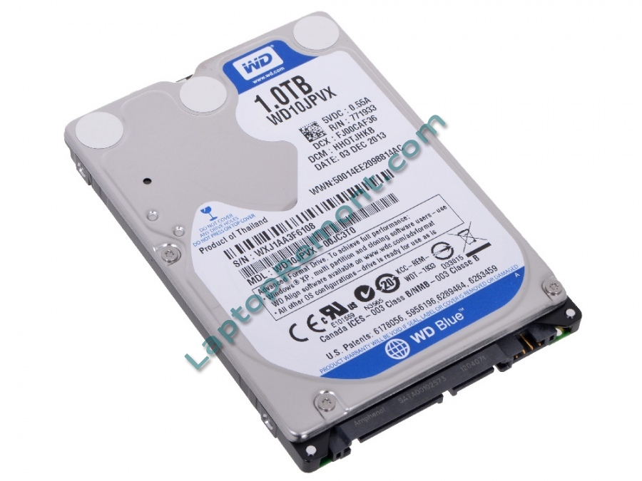 "Твърд диск WD 2.5"" 1TB 1000GB SATA III 8MB 5400rpm (6 МЕСЕЦА)"